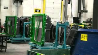 John Deere Factory Gold Key Combine Tour
