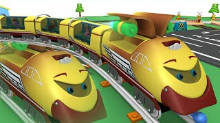Toy Train Cartoon -Toy Factory Choo Choo Train – Cartoon Cartoon Train for Kids - Thomas and friend