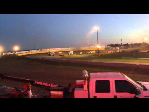 6-15-14 Casino Speedway Modified Feature Start