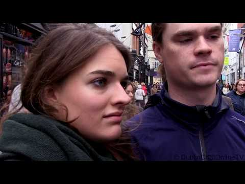 Irish Fears: pros and cons of the legalization of cannabis or oil. Street interviews in Dublin.