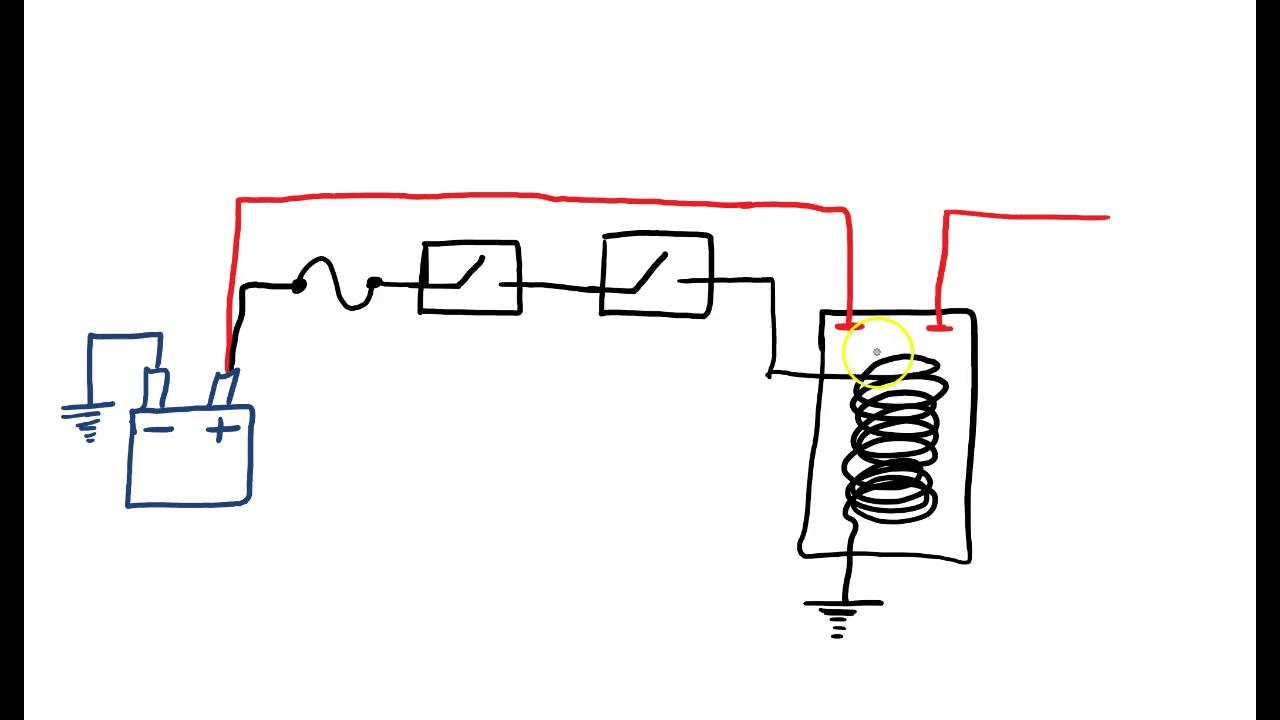 Starting System Wiring Diagram