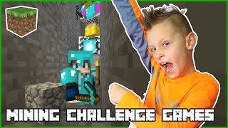 Mining Challenge Games