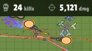 Zombsroyale.io - The Killing Machine - 24 Kills & 5000+ Damage in Superpower Game Mode