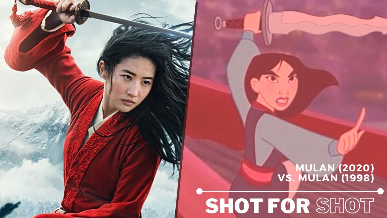 Mulan 1998 Vs Mulan 2020 Shot For Shot Comparison Youtube