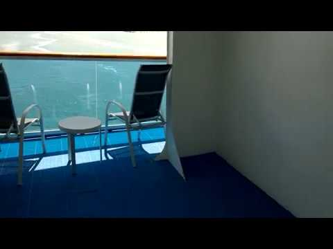 Crown Princess Aft Balcony D735 Youtube