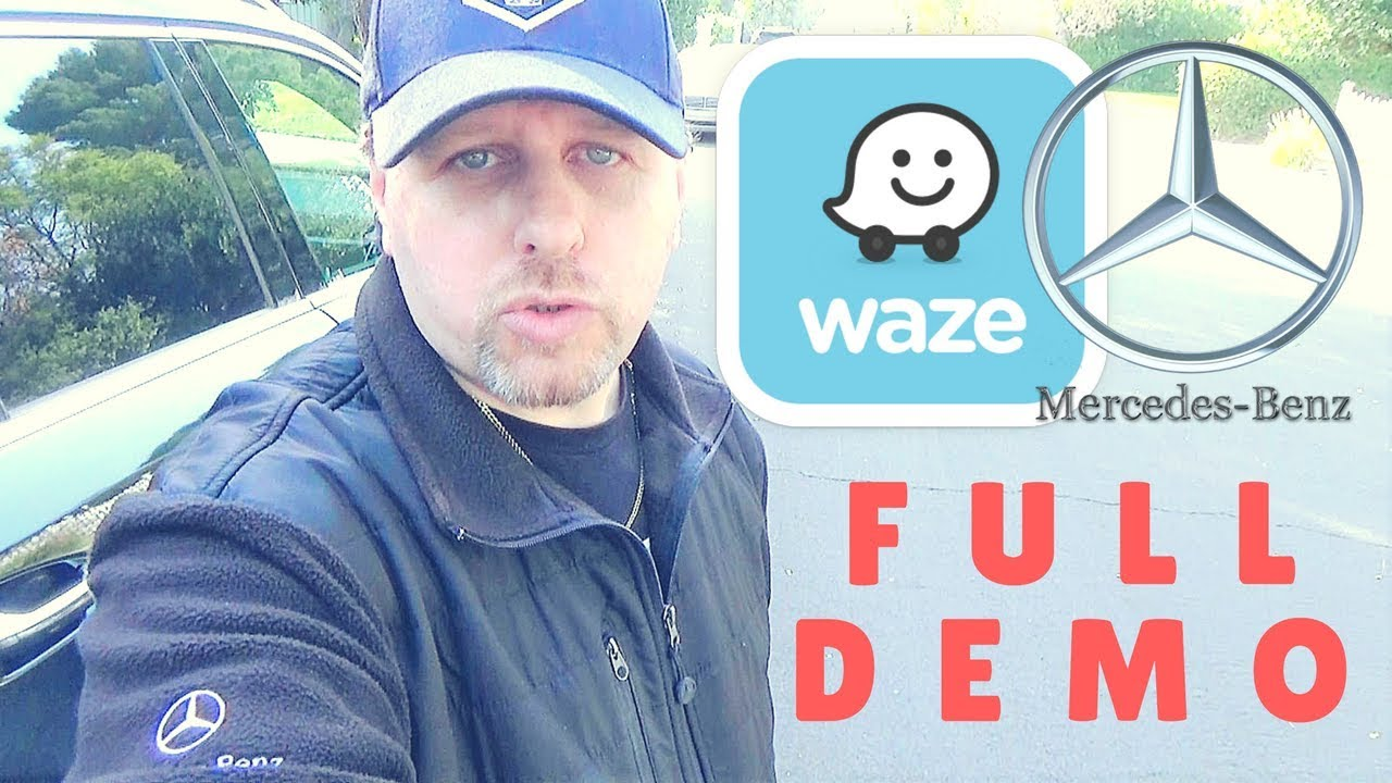 How to Use Waze on Mercedes-Benz Full Demo! – MBZ Master