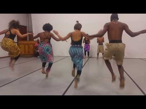 UCT African Dance Students - Performance at Africa Day Celebrations - May 2017