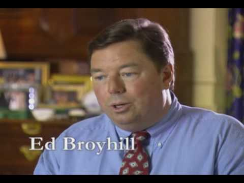 Ed Broyhill Endorsed by President Gerald Ford For Congress 2004