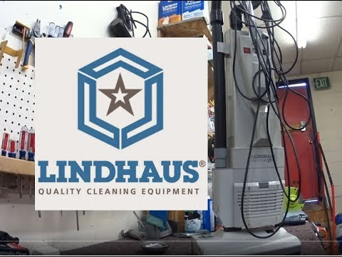 "Lindhaus HealthCare Pro "" Eco Force""  380e Upright Vacuum Cleaner repair Fix Tune up"