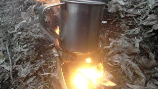 Печка щепочница своими руками / Tactical Stove / Do It Yourself