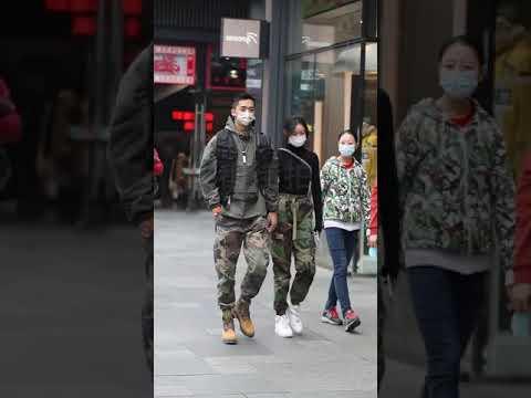 Fashion Walking Styles In China Tiktok Compilation#short#shorts#newtiktok