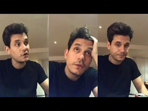 John Mayer   Instagram Live Stream   26 October 2017