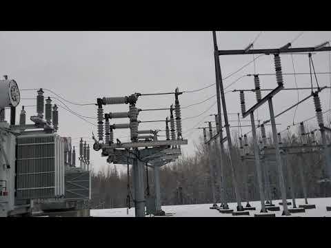Energizing A 138000 Volt Power Transformer!