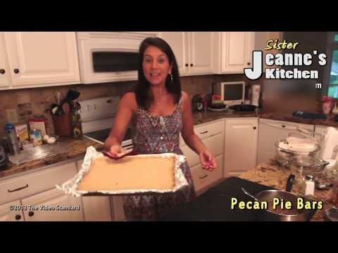 Pecan Pie Bars By Sis Jeanne's Kitchen