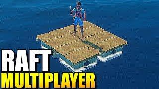 MEGA ZMIANY NA TRATWIE! DUŻO NOWYCH RZECZY | Raft Multiplayer #4