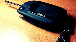 Выкидной ключ VW + Брелок сигнализации с обратной связью(Сбылась маленькая мечта: Брелок с обратной связью сигнализации Starline A61 + Выкидной ключ = 2 в 1 Полный обзор..., 2015-10-05T17:35:24.000Z)