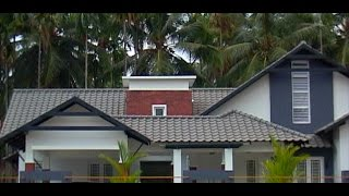 Traditional and contemporary style of architecture Villa in Beautiful Homes in jaihind Tv