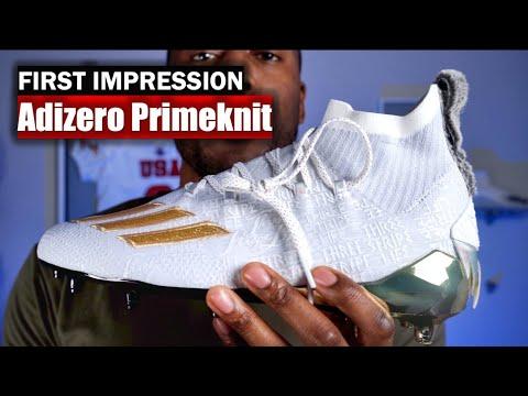 Adidas adiZero Primeknit Football Cleats: First Impression