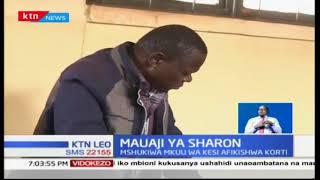 Aliyekuwa Mwakilishi wa Wadi Lawrence Mula alifikishwa mahakama kufuatia kifo cha Sharon