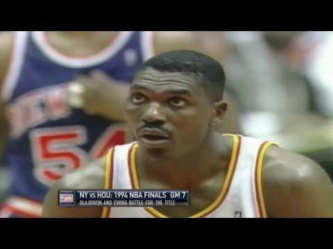 Hakeem Olajuwon 1994 NBA FInals Game 7 Highlights (25/10/7)