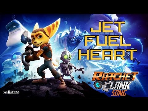 RATCHET AND CLANK SONG - Jet Fuel Heart by Miracle Of Sound