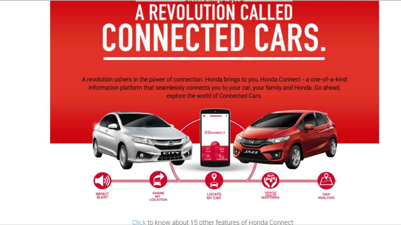 honda connect app review youtube