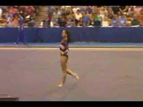 2008 UCLA quad meet-Kayla Hoffman-FX