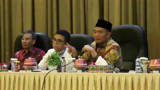 Silaturrahmi Mendikbud dengan UPT Kemdikbud Se Sulsel Tahun 2018