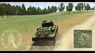 WWII Battle Tanks.T-34 vs Tiger.v 1.02