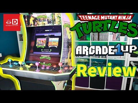 Arcade1Up TEENAGE MUTANT NINJA TURTLES HOME ARCADE MACHINE - REVIEW from DadBuysStuff