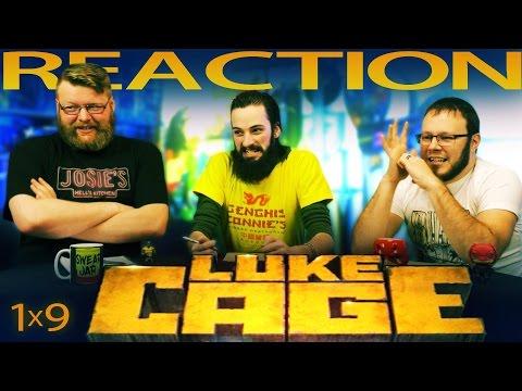 Luke Cage 1x9 REACTION!!