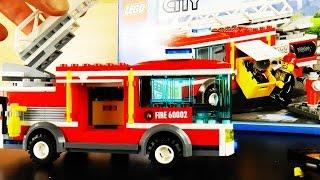 Lego City Fire Truck Bricks 60002