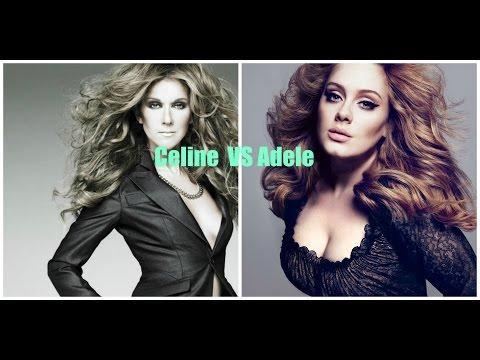 Celine Dion VS Adele VOCAL BATTLE (C3-A5)