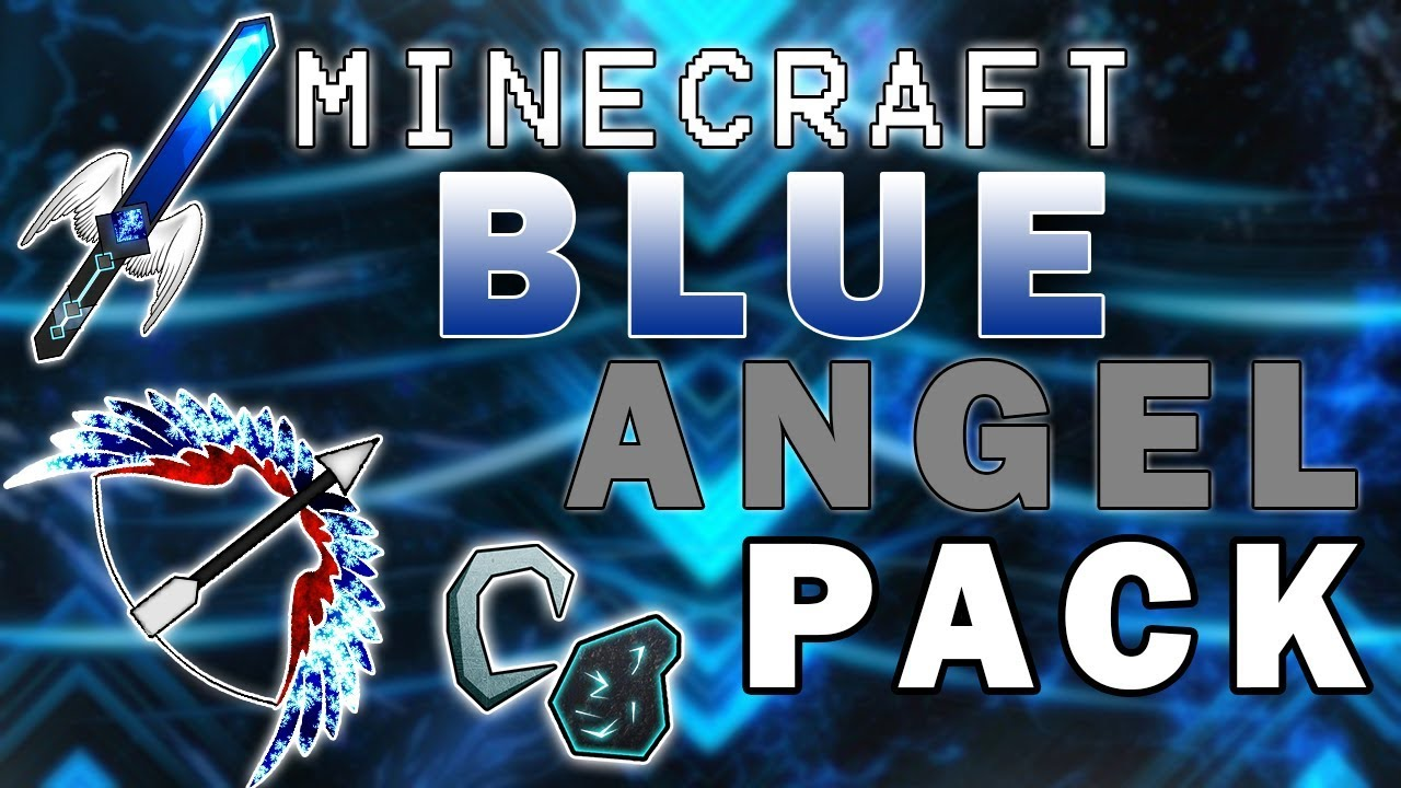 MINECRAFT: BLUE ANGEL PVP TEXTURE PACK! *IT'S AMAZING ...