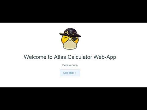 Atlas Calculator Taming & Stats - Mod Showcase - Official