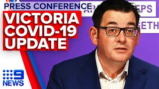 Coronavirus: Victoria Premier announces 270 new cases | 9 News Australia