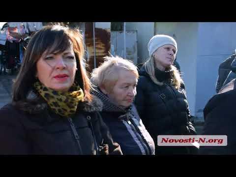 Видео 'Новости-N': Скандал на николаевском рынке 'Колос'