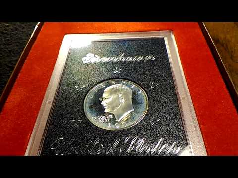 1971-S Proof Eisenhower Silver Dollar Or