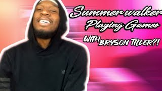 Summer Walker - Playing Games with Bryson Tiller Official Music Video