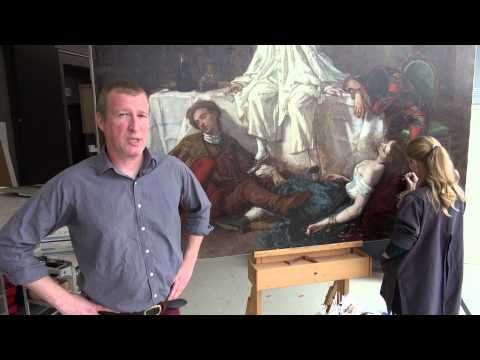 Masterpiece in Focus: Thomas Couture in the Studio [The exhibition and Restoration]