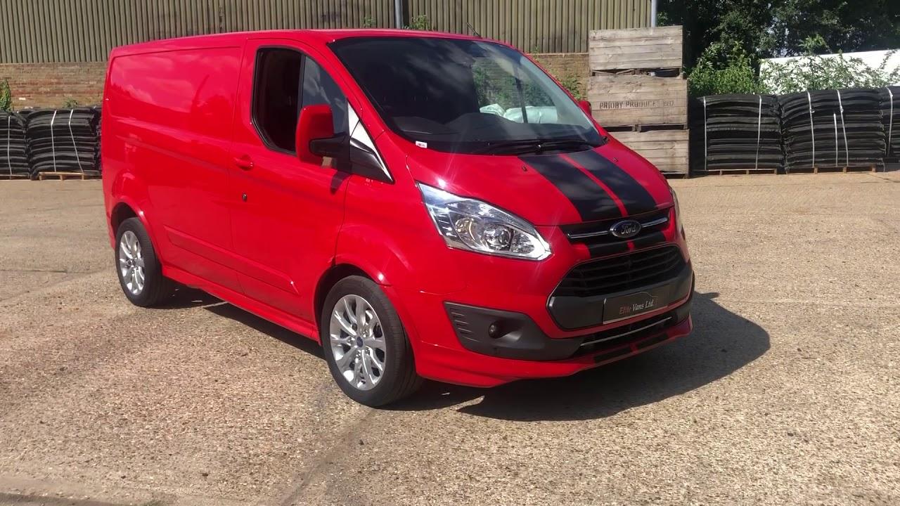 Refinar salario Indiferencia  Ford Transit Custom Sport for sale Elite Vans Ltd - YouTube
