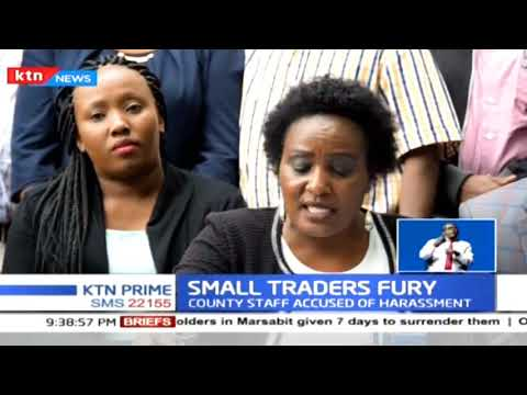 Nairobi Importers and Small Traders Association are planning demonstration against KPA