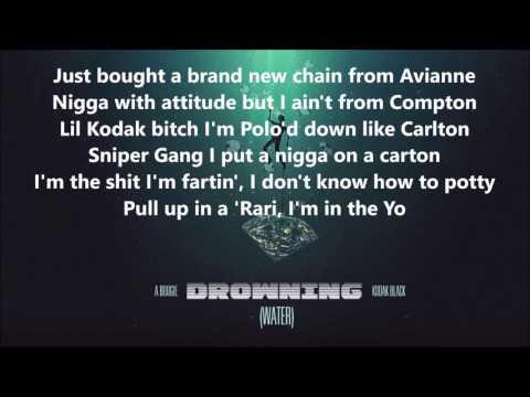A Boogie - Drowning Lyrics