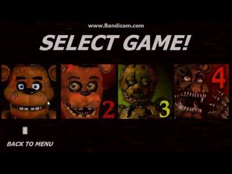 FNAF Jumpscare Simulator gameplay (Fan-game)