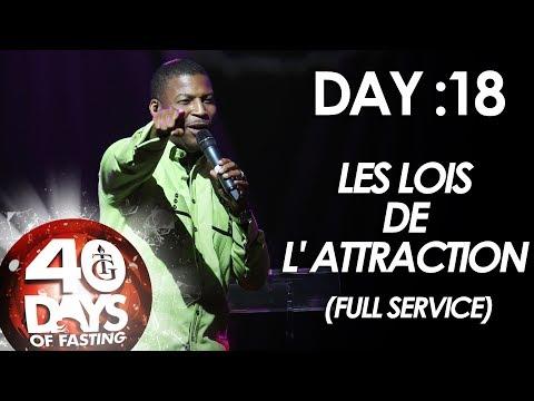 Pasteur Gregory Toussaint | 40-DAY FAST - DAY 18 I Les Lois de L' Attraction