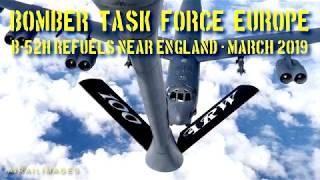B-52H Stratofortress Refuels Near England