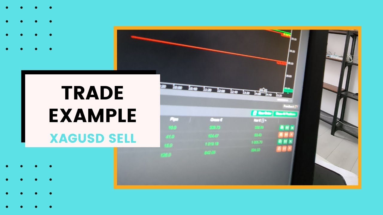 Trade Example on XAGUSD