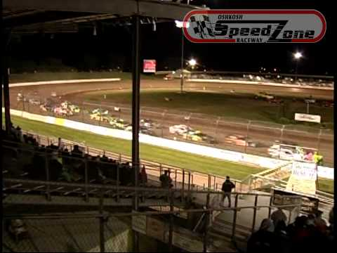 Oshkosh Speedzone Raceway - May 24, 2013 - IMCA Sport Modified Feature