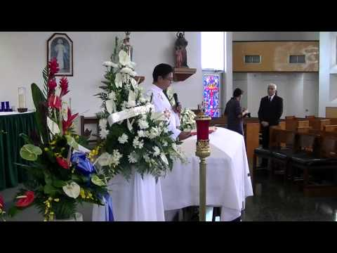 Oscar P. Dizon - Funeral Opening Prayer