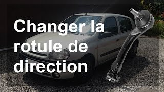 Changer rotule de direction / biellette de direction - Renault Clio 2